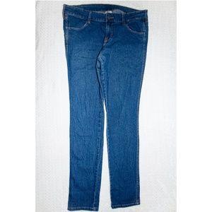HM Skinny Low Waist Blue Jeans